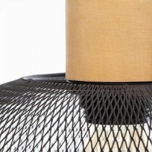 Lustra suspendata metalica, negru PM1682183