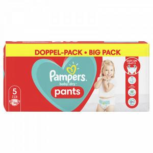 Scutece-chilotel Pampers Baby-Dry, Pants, marimea 5, 12-17 Kg, 56 bucati, PM803380733