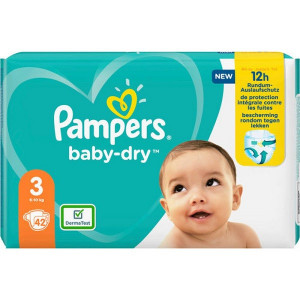 Scutece Pampers Baby-Dry, marimea 3, 6-10 Kg, 42 bucati, PM2264786-33