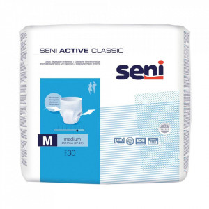 Scutece Seni Active Classic Medium, tip chiloti, 30 buc.
