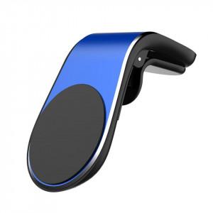 Suport auto universal magnetic pentru telefoane - Vent Blue