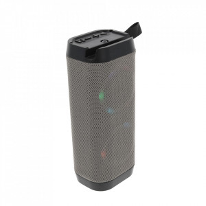 Boxa Portabila Bluetooth, Lanterna, TF, USB, LED LV11-GREY
