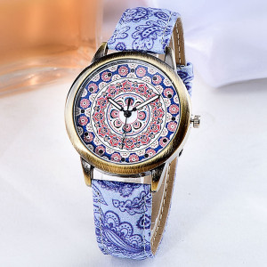 Ceas Dama Fashion Mandala Q332