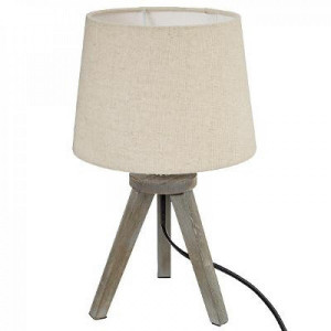 Lampa cu abajur conic, bej , PM161510A3