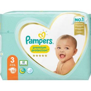 Scutece Pampers Premium, marimea 3, 6-10 Kg, 35 bucati, PM2264833-43