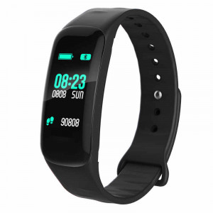 Bratara Smart F602, Fitness Tracker, Negru