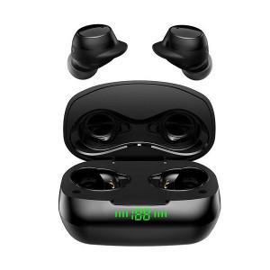 Casti fara fir 5.0 noise reduction, in-ear, stereo, Waterproof, Bluetooth,TWS-2