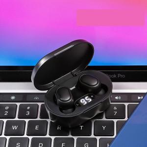 Casti fara fir, in-ear, stereo, Bluetooth 5.0, negru, TWS-7
