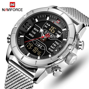 Ceas Barbatesc Dual-Time Multifunctional Naviforce NF9153-V2