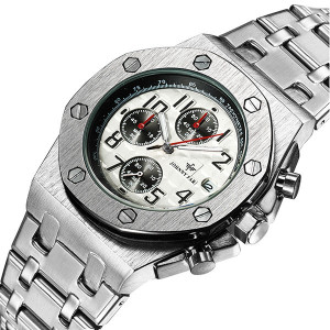 Ceas Barbatesc Full Chronograph Johnny Far F-200