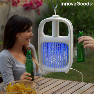 Lampa antitantari si paleta electrica Swateck InnovaGoods