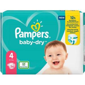 Scutece Pampers Baby-Dry, marimea 4, 9-14 Kg, 36 bucati, PM2264791-73