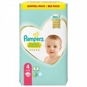 Scutece Pampers Premium, marimea 4, 9-14 Kg, 60 bucati, PM83802213