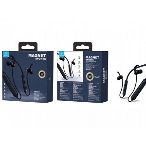 Căști Bluetooth sportive negre, PMTF250233
