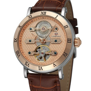 Ceas Barbatesc Automatic Tourbillon Forsing FOR1002-ROZE
