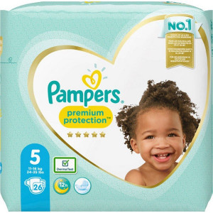 Scutece Pampers Premium, marimea 5, 11-16 Kg, 26 bucati, PM2264836-53