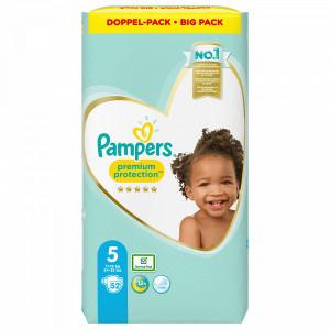 Scutece Pampers Premium, marimea 5, 11-16 Kg, 52 bucati, PM83812223
