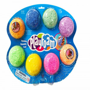 Spuma de modelat Playfoam™ - Set 8 culori