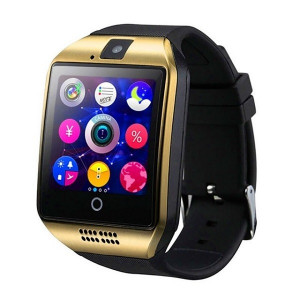 Smartwatch Vogue Q18 Curved Nfc cu Camera si Telefon 3G - SW011-GOLD