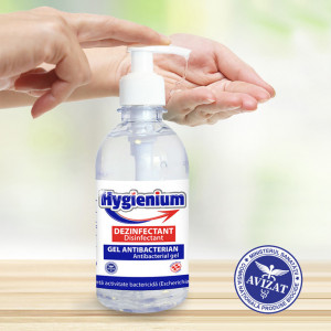 Gel de mâini dezinfectant antibacterian Hygienium 300 ml