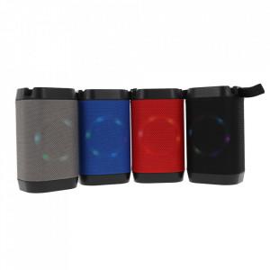 Boxa Portabila Bluetooth, Lanterna, TF, USB, LED LV10-GREY