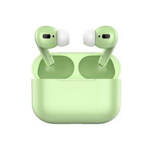 Casti fara fir, in-ear, stereo, Bluetooth 5.0, verde, TWS-I20-verde