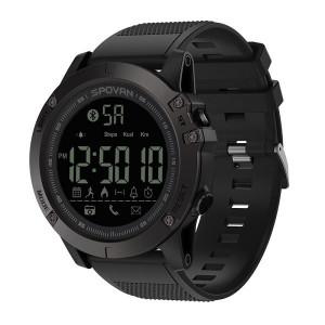 Ceas Barbatesc Sport Led Digital SPOVAN Bluetooth 50m Rezistent la apa