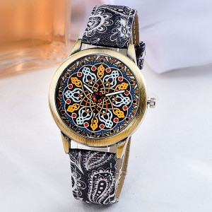 Ceas Dama Fashion Mandala Q334