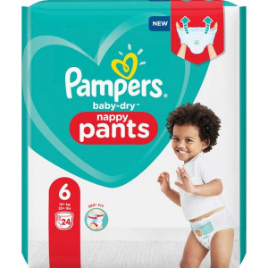 Scutece-chilotel Pampers Baby-Dry, Nappy Pants, marimea 6, 15+ Kg, 24 bucati, PM2266533-13