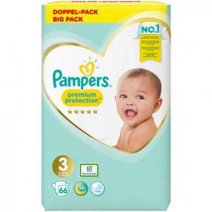 Scutece Pampers Premium, marimea 3, 6-10 Kg, 66 bucati, PM11043