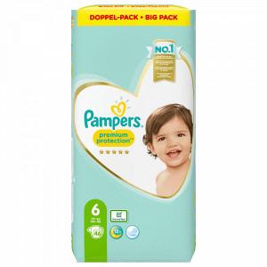 Scutece Pampers Premium, marimea 6, 13+ Kg, 46 bucati, PM83813233