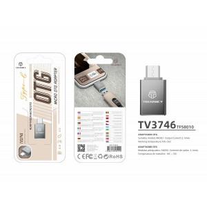 Adaptor Micro Usb Otg, Gri, PMTF580103