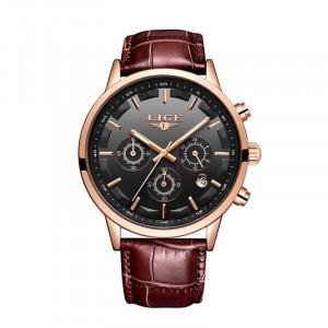 Ceas Barbatesc Lige, Cronograf Q9578-V1