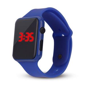 Ceas LED M011-V11-albastru-inchis