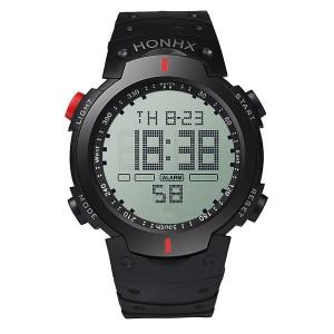 Ceas Led Sport Barbatesc HX001-ROSU