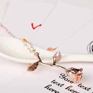 Lantisor Dama Trandafir - roze COL151-V3
