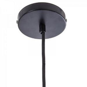 Lustra suspendata metalica, negru, PM148165A3