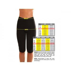 Pantaloni Fitness Slim Fit din Neopren pentru slabit si modelare, Marimea XL, PM152473