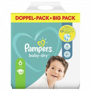 Scutece Pampers Baby-Dry, marimea 6, 13-18 Kg, 54 bucati, PM80334863