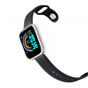 Smartwatch Y68, Fitness Tracker, Bluetooth, Silver