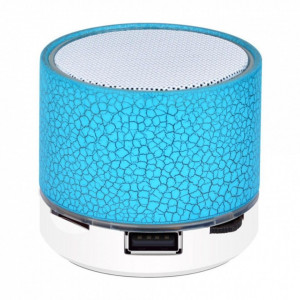 Mini Boxa portabila Bluetooth - Colorful Albastru