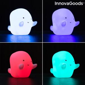 Lampă fantomă LED multicolor Glowy InnovaGoods Gadget Kids