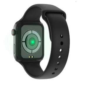 Smartwatch T500, Monitorizare Cardiaca, Tensiune, Sedentarism, Bluetooth 4.2 , Negru, T500-BLACK