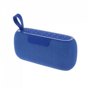 Boxa Portabila TG-177 Albastra cu Afisaj Digital,Ceas, Termometru, Radio, MP3, Bluetooth, USB, TF-Card