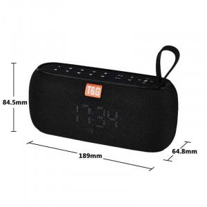 Boxa Portabila TG-177 cu Afisaj Digital,Ceas, Termometru, Radio, MP3, Bluetooth, USB, TF-Card