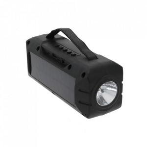 Boxa Portabila ZQS-T315 cu Incarcare Solara si Lanterna, Suport USB, TF, FM, Bluetooth