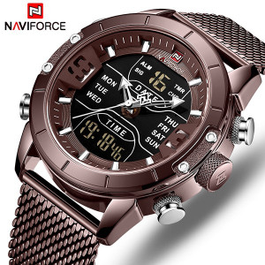 Ceas Barbatesc Dual-Time Multifunctional Naviforce NF9153-V3