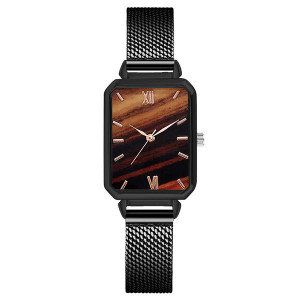 Ceas de Dama, cu inchidere magnetica, Marble, Q9601-V4