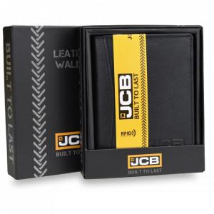 Portofel pentru barbati JCB, protectie RFID, elegant, piele, PMJCB54