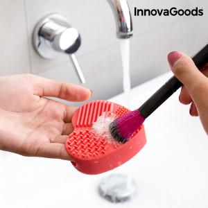 Produs de curățat perii și pensule de machiaj Heart InnovaGoods Wellness Beauté